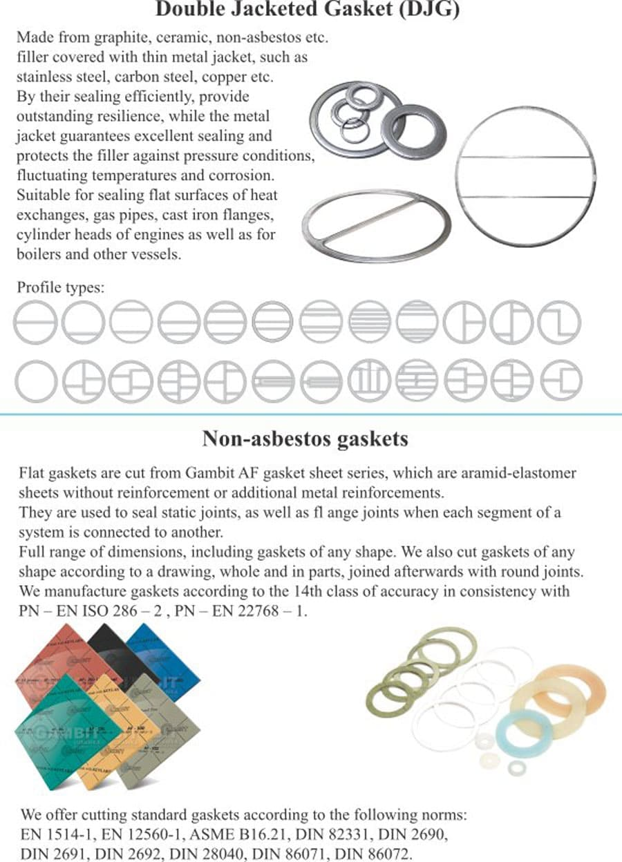 Double Jacketed Gasket (DJG)